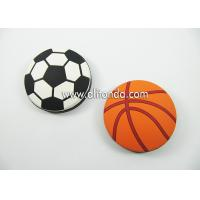 Quality Round shape basketball football shape personalized mini portable bottle opener custom as for promotional gifts for sale
