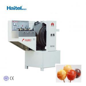 Quality 8.2KW 250-625Pcs/Min Automatic Lollipop Candy Making Machine 220v for sale