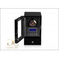 China Battery Operated Watch Winder / Watch Winder Led Lights Remote Control on sale