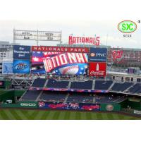 Best Big High brightness p10 outdoor  Stadium LED Display Media Wall for Sports Hall / Field wholesale