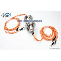China 4 Channel  2000rpm for Multi-mode Fibre Optic Slip Ring/FORJ Stainless Steel Housing on sale