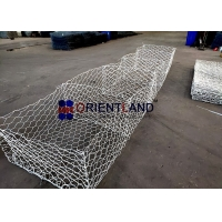 Quality HDG 80x100mm Woven 3.0mm Gabion Wire Baskets for sale