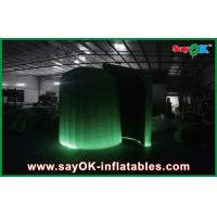 China Color Change Waterproof Inflatable Trade Show Booth Dome With Led on sale