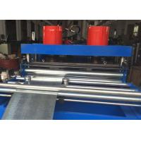 Buy 5 Tons Hydraulic Uncoiler Cable Tray Roll Forming Machine 5 - 6m / min at wholesale prices