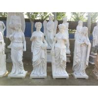 Quality Indoor grace lady marble sculptures park marble stone statues ,China stone carving Sculpture supplier for sale