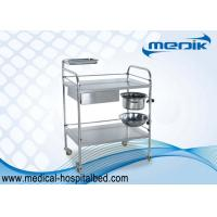 Buy cheap Protection Guardrails Stainless Steel Instrument Trolley With One Drawer One from wholesalers