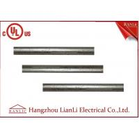Quality 1-1/2 Inch EMT Electrical Metallic Tubing Outdoor with Hot Dip Galvanized , B235 Material for sale
