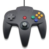 Quality Game Joystick Black N64 Usb Controller , Nintendo 64 Controller For Android for sale