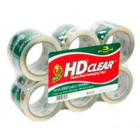 Quality Waterproof Clear Colored Tape , BOPP Box Sealing Tape Custom Logo for sale