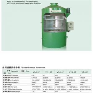 Quality tin solder ingot melting furnace for sale