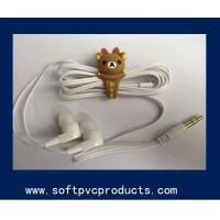 Quality Smart Phone Decoration Accessories Rubber Earphone Ornaments Promotional Gifts for sale