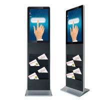 China 32 Inch Floor Stand Interactive Touch Screen Kiosk Android Interactive Advertising Display on sale