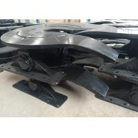 Quality Cast Steel Bidirectional Trailer Fifth Wheel With 50mm / 90mm Towing Pins for sale