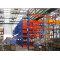Quality Blue Red Mobile Storage Racks Q235B Custom Pallet Electric Mobile Shelving for sale