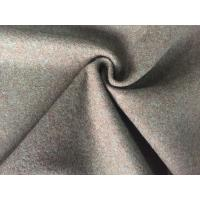 China Classic Style Felted Wool Fabric , Woven Flannel Fabric For Baby Quilts on sale