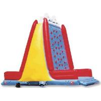 Best PVC Tarpaulin amusement park sports games children inflatable rock climbing wall wholesale