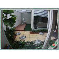 Quality Field Green / Apple Green Indoor Artificial Grass Turf Tile House Decoration Grass for sale
