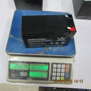 Quality Industrial Lead Acid Storage Battery , Lead Acid Gel Cell Batteries for sale
