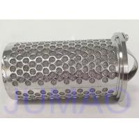 Quality 316 Stainless Steel Mesh Basket Filter Element For Industrial Liquid Filteration for sale