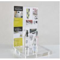 Best OEM retail counter POS clear acrylic display stand for cosmetic wholesale