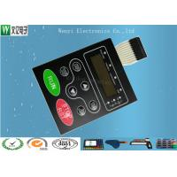 Buy Multi LED Embossing Membrane Switch 10 Pin Female Connector 1.0mm Pitch at wholesale prices