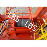 Quality General - Purpose Spooling Device Winch With Lebus Groove / Bridge / Overhead Crane for sale