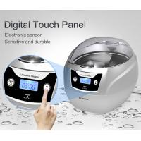 Buy cheap 750ml Portable Household Ultrasonic Cleaner With Touch Control Panel from wholesalers