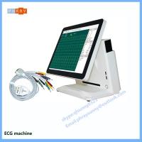 Quality family use 3 channel 6 channel 12 channel portable ECG machine portable electrocardiograph for sale