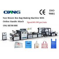 Quality High Efficiency Automatic Non Woven Box Bag Making Machine for sale