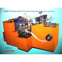 China ultrasonic paper bowl forming machine on sale
