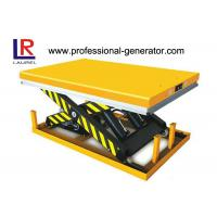 Quality Heavy Duty Stationary Scissors Lift Platform Good Performance Materials Handling Equipment for sale