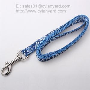 Best 6ft sublimation dog leash, full color print polyester dog leads, wholesale