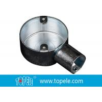 Quality TOPELE 25mm / 32mm BS Electrical Conduit Circular Junction Box For Conduit Fittings for sale