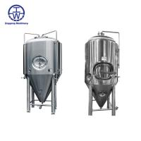 Quality Durable Stainless Steel Beer Tanks 200L-50000L Temperature Control Insulation Rockwool for sale