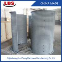 Quality Double Grooved Lebus Sleeve For Multilayer Spooling , 10-50mm Rope Dia for sale