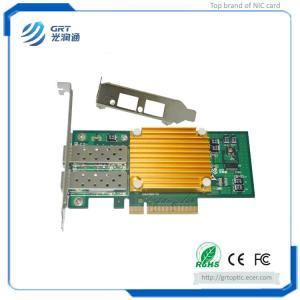 Quality F1002E 10Gigabit  Intel 82599ES Dual-port Fiber Ethernet PCIe NIC Network Server Adapter for sale