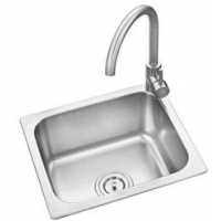 Buy cheap cheap price plating or satin stainless steel sink 42*36CM from china sink from wholesalers