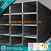 Quality Q195 Q235 Q345 Welded Square Steel Tube , ASTM A500 BS1387 Structure Pipe for sale