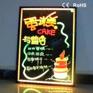 China 2012 latest new hot led writing board on sale