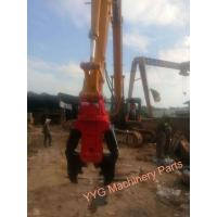 Quality Reinforced Concrete Hydraulic Shear For 26-35 Tons Excavators , Excavator Shears for sale