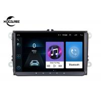 Quality Car Stereo Radio Volkswagen DVD Player 9 Inch Android 9.0 1024*600P Screen for sale
