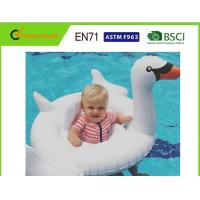 "Customised Size Swan Pool Float 70""x32"" With Comfortable Flocked Sleeping Surface"