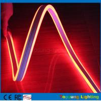 Buy cheap 100m red mini led rope strip 110V 8.5*18mm 4.5w led double-sided flexible neon light from wholesalers