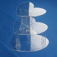 Cheap Acrylic Clear Cake POP Display Stand (D), Customized Sizes and Designs are Welcome for sale