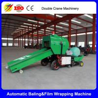 China mini round baler/square hay baler corn silage machine 1ton/h on sale