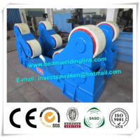 Quality Automated PU Roller Pipe Welding Rotator / 5 Ton Welding Turning Rolls for sale