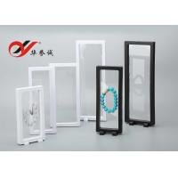 Quality Transparent Floating Display Frame Color Customized ABS / PET Material For Display for sale