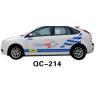 Buy cheap Car Decoration PVC Custom Car Body Sticker QC-214K from wholesalers