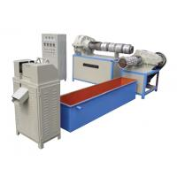 Quality 80 R/Min Rotation Speed PP Woven Bag Production Line Recycling Granulator Automatic Heating Control for sale