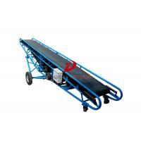 Quality Low Noise Industrial Conveyor Systems High Temperature Resistance With Hopper for sale